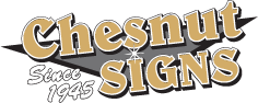 Chesnut Signs Logo